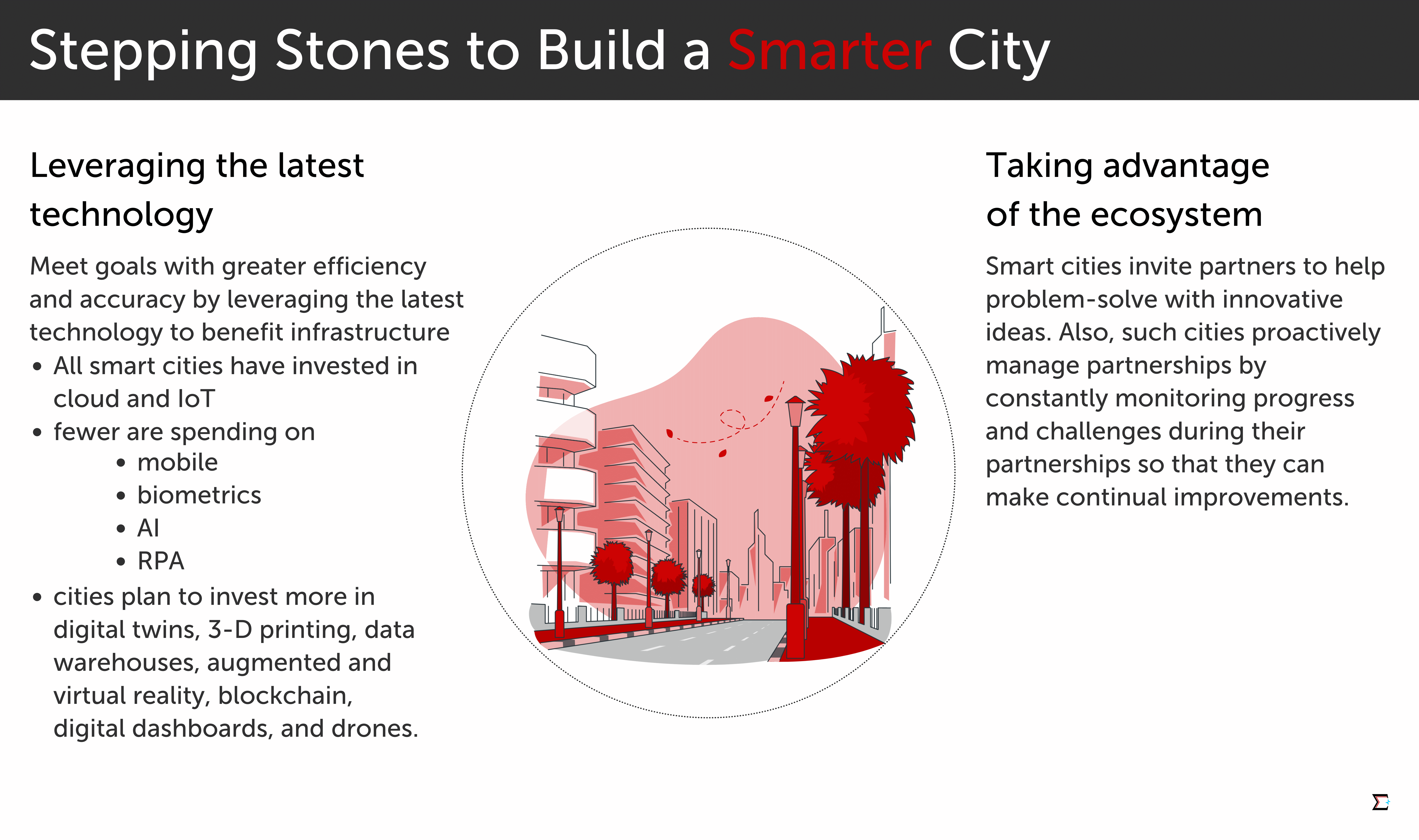 Stepping Stones to Build a Smarter City